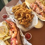 Double lobsta rolls and the beach