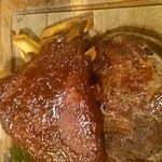 steak and rbs and chips