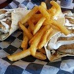 Fresh Mahi fish tacos