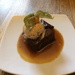 Sticky Toffee Pudding with Salted Caramel Ice Cream
