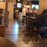 The brand new makeover to the nurseryman makes this pub and grill very inviting and very homely.