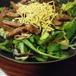 Thai Beef Salad was yummy. Meat was so tender.