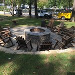 fire pit....we did a drumming ceremony at night with a fire