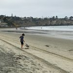 September at La Jolla Shores beach and park offer quiet walks, empty beaches, and gloriously pri