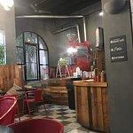 Inside Cafe Cuatro Sombras