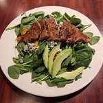 The Northern Pines Restaurant - Steak Salad (Without Eggs) - September 2018