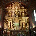 Le retable de l'église Notre-Dame de l'Assomption