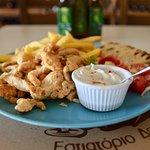 Greek Chicken Gyros!