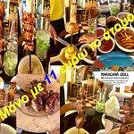 10 διαφορετικά ψητά κρέατα στα κάρβουνα,σαλάτες,μαγειρευτά,γλύκα,καφές καΐπιρίνια!!!