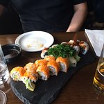 Sushi Roll Plate