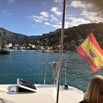 Leaving Port Soller