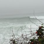 Quite a bit of wave action on this day