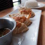 Dumplings and ponzu