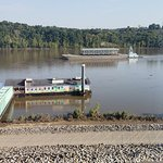 Barge cruising by RiverWatch!