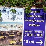 Foto van L'Operetta Osteria di Mare