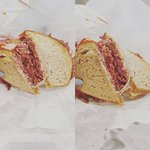 Pastrami in its original sandwich form :)