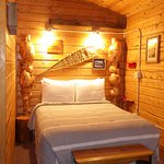 My room (in the 2-room cabin) in the cabin Gold Rush