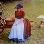 Re-enactor at Endview Plantation. By James Lawson