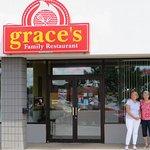 Entrance to Grace's Family Restaurant