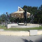 Фотография Скульптурная композиция Сибирские просторы