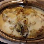 ravioli gratinado seco e sem gosto