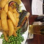 Grillet mackerel fillets