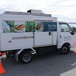 Mt. Cook Alpine Salmon Shop - delivery truck