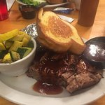 Smoked Beef Brisket Dinner with 2 sides