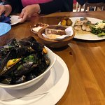 Mussels and Cod Fish