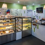 A wide variety of pies, pastries, drinks and more for you to enjoy