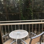 Balcony in room