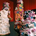 Just some of the cakes on display