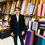 Cashmere wool suit customer from Switzerland