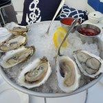 Fresh Wellfleet Oysters very sweet