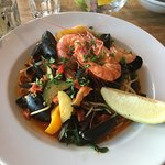 Seafood Spaghetti - utterly delicious!
