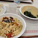 riso,cozze e patate