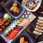 Sushi and snacks