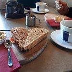 lunch at Reykjavik Rost