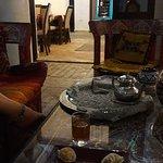 Té y dulces árabes de bienvenida