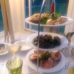 Seafood Sharing Platter (lobster, dressed crab, scallops, mussels)