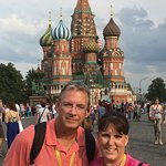 Red Square in front of St. Basil's Cathedral