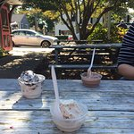 Always get ice cream at Buffy's when we are in Chatham.