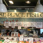 Pike Place Fish Co-known for the fish throwing!