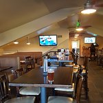 Big Bear Lake Brewing company upstairs area more quiet