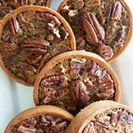 Pecan tarts all lined up for your taste buds! We love to bake and inspire! Stop by and enjoy our