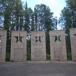 Alaska War Veterans Memorial, Milepost 147.1, Parks Highway. A special place..