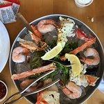 Alaskan crab and shrimp