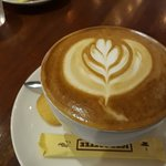 Latte, nicely done.