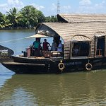 Overnight on the houseboat in Appelley Kerala