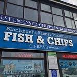 Bilde fra C Fresh Foxhall Fish & Chips